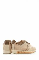 Кожаные кроссовки The Field Sneaker Burberry