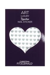 Арт-стикеры для ногтей Art Luxury Signature Nail Sticker «Gray Heart», 96 шт. Christina Fitzgerald