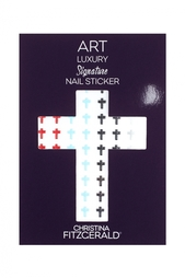Арт-стикеры для ногтей Art Luxury Signature Nail Sticker «Cross Set», 96 шт. Christina Fitzgerald