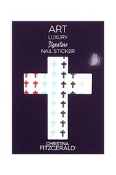 Арт-стикеры для ногтей Art Luxury Signature Nail Sticker «Cross Set», 96 шт. Christina Fitzgerald