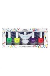 Набор лаков для ногтей Colour Pop «Разноцветный дождик», 5x5ml Christina Fitzgerald