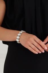 Браслет из латуни с кристаллами Philippe Audibert