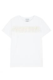 Хлопковая футболка Edit