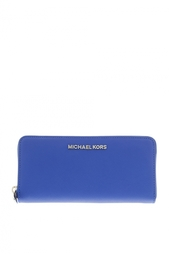 Кожаный кошелек Jet Set Travel Michael Michael Kors