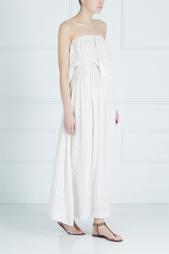 Шелковое платье-бюстье Talitha