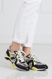 Кожаные кроссовки ASH