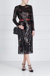 Платье с вышивкой Shira Gown Erdem