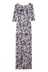 Платье с принтом Valentina Gown Gloria Erdem