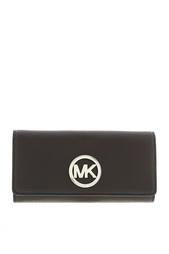 Кожаный кошелек Fulton Michael Michael Kors