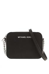 Кожаная сумка Jet Set Michael Michael Kors