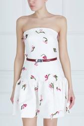 Платье-бюстье Oscar de la Renta