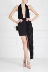 Однотонное платье Anthony Vaccarello
