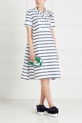 Платье с принтом Victoria Andreyanova