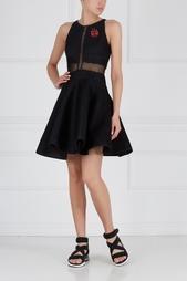 Однотонное платье Corrine Zac Zac Posen