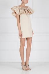 Однотонное платье Crystal Zac Zac Posen