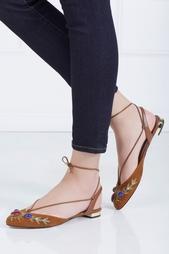 Кожаные сандалии Desert Stone Aquazzura