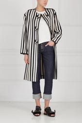 Пальто из шерсти и хлопка Isabel Marant Etoile