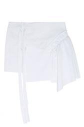 Хлопковая юбка-мини No.21