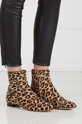 Ботинки из меха пони Puss in Boots Charlotte Olympia