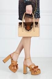 Кожаная сумка Fierce Handbag Charlotte Olympia