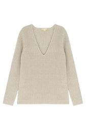 Пуловер из кашемира и льна Michael Kors