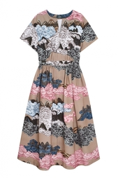 Хлопковое платье Alena Akhmadullina