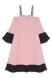 Платье из шелка и хлопка Masterpeace X J. Kim