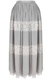 Шелковая юбка (80-е) Christian Dior Vintage