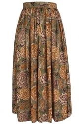 Шерстяная юбка (80-е) Yves Saint Laurent Vintage