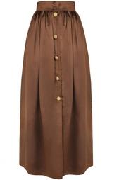 Шелковая юбка (80-е) Escada by Margaretha Ley Vintage