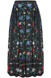 Шелковая юбка (80-е) Louis Feraud Vintage