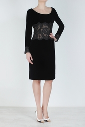 Бархатное платье (80-е) Emanuel Ungaro Vintage