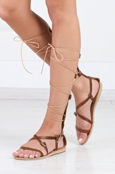 Кожаные сандалии Sofia High Ancient Greek Sandals