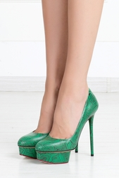 Кожаные туфли Josie Charlotte Olympia