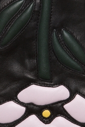 Кожаные перчатки Christopher Kane