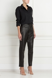 Кожаные брюки Anthony Vaccarello