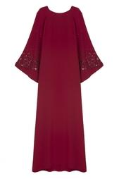 Шелковое платье Oscar de la Renta