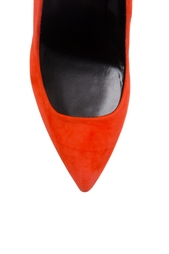 Красные Замшевые туфли Pierre Hardy