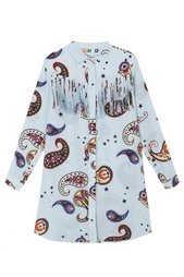 Шелковое платье Msgm
