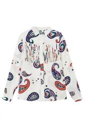 Шелковая блузка Msgm