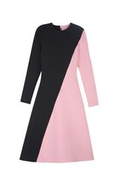 Двухцветное платье Roksanda
