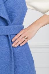 Кольцо из бронзы с жемчугом Bernard Delettrez