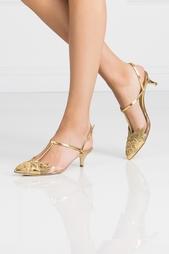 Туфли из лакированной кожи Oscar de la Renta