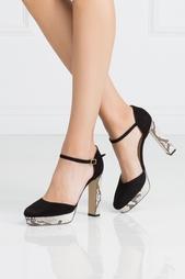 Замшевые туфли Mika Diane von Furstenberg