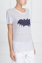 Льняная футболка Zoe Karssen