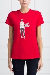 Хлопковая футболка Girls In Bloom