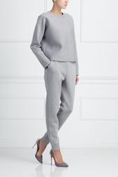 Однотонные брюки T by Alexander Wang