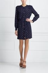 Шелковое платье Juicy Couture