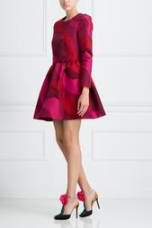 Платье с принтом Mallarme Vivetta