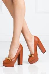 Кожаные туфли Agate Charlotte Olympia